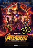 Avengers: Infinity War (IN 3D) (cc) -click for show times