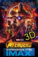Avengers: Infinity War (IMAX EXPERIENCE IN 3D) -click for show times