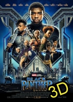 Black Panther (2018) (IN 3D) (cc/dvs) -click for show times