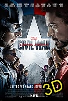 Captain America: Civil War (IN 3D) (cc/ds) -click for show times