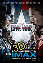 Captain America: Civil War (IMAX EXPERIENCE IN 3D) -click for show times