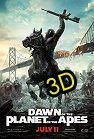 Dawn Of The Planet Of The Apes ( In 3D ) (cc/ds) -click for show times