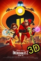 Incredibles 2 (IN 3D) (cc/dvs) -click for show times