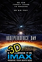 Independence Day: Resurgence (IMAX EXPERIENCE IN 3D) -click for show times