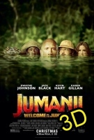 Jumanji: Welcome To The Jungle (2017) (IN 3D) (cc/dvs) -click for show times