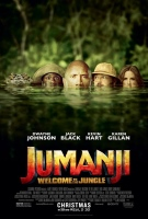Jumanji: Welcome To The Jungle (2017) (cc) -click for show times