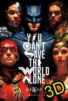 Justice League (2017) (IN 3D) (cc) -click for show times
