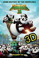 Kung Fu Panda 3 (IN 3D) -click for show times