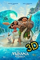 Moana (IN 3D) (cc/ds) -click for show times