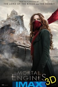 Mortal Engines (IMAX EXPERIENCE IN 3D) (cc/dvs) -click for show times