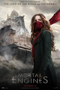 Mortal Engines (cc/dvs) -click for show times