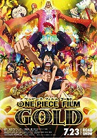 One Piece Film: Gold -click for show times