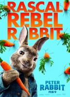 Peter Rabbit (cc/dvs) -click for show times