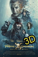 Pirates Of The Caribbean: Dead Men Tell No Tales (IN 3D) (cc) -click for show times