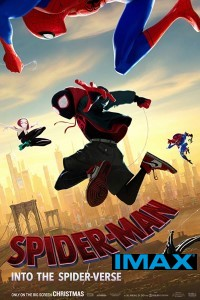 Spider-man: Into The Spider-verse (IMAX EXPERIENCE) (cc/dvs) -click for show times