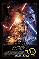Star Wars: The Force Awakens (IN 3D) (cc/ds) -click for show times