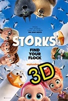 Storks (2016) (IN 3D) (cc/ds) -click for show times