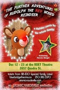 The Further Adventures Of Rudolph (eat, Pray Glow)