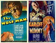 The Wolf Man 1941 | The Mummy 1932 -double Feature -click for show times