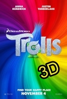 Trolls (IN 3D) (cc/ds) -click for show times