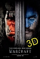Warcraft (2016) (IN 3D) (cc/ds) -click for show times
