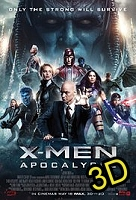 X-Men: Apocalypse (IN 3D) -click for show times